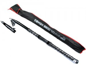 WĘDKA TELESKOPOWA demon 3,6m 60-120g carbon mix